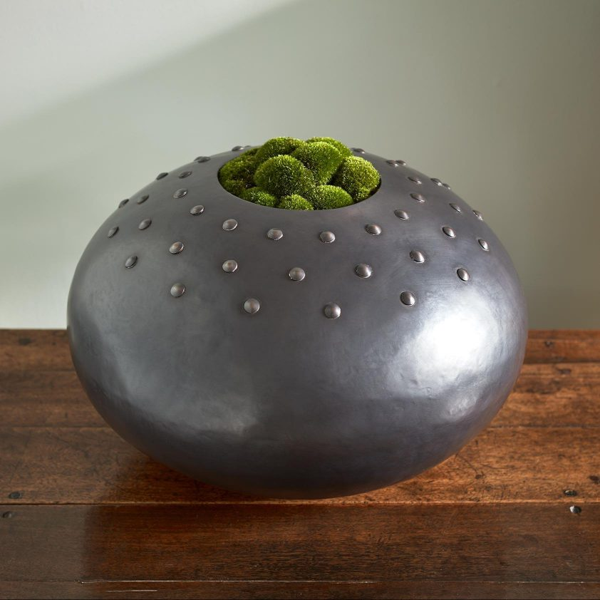 Custom Urchin with Studs in Copper Grey