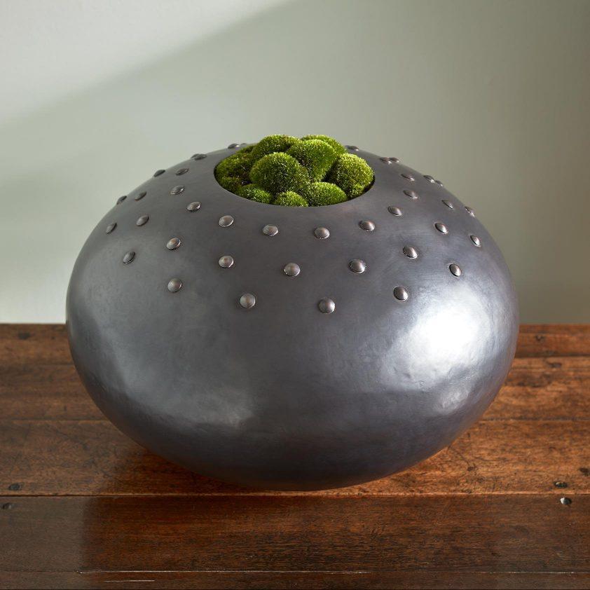 Custom Urchin with Studs in Copper Grey