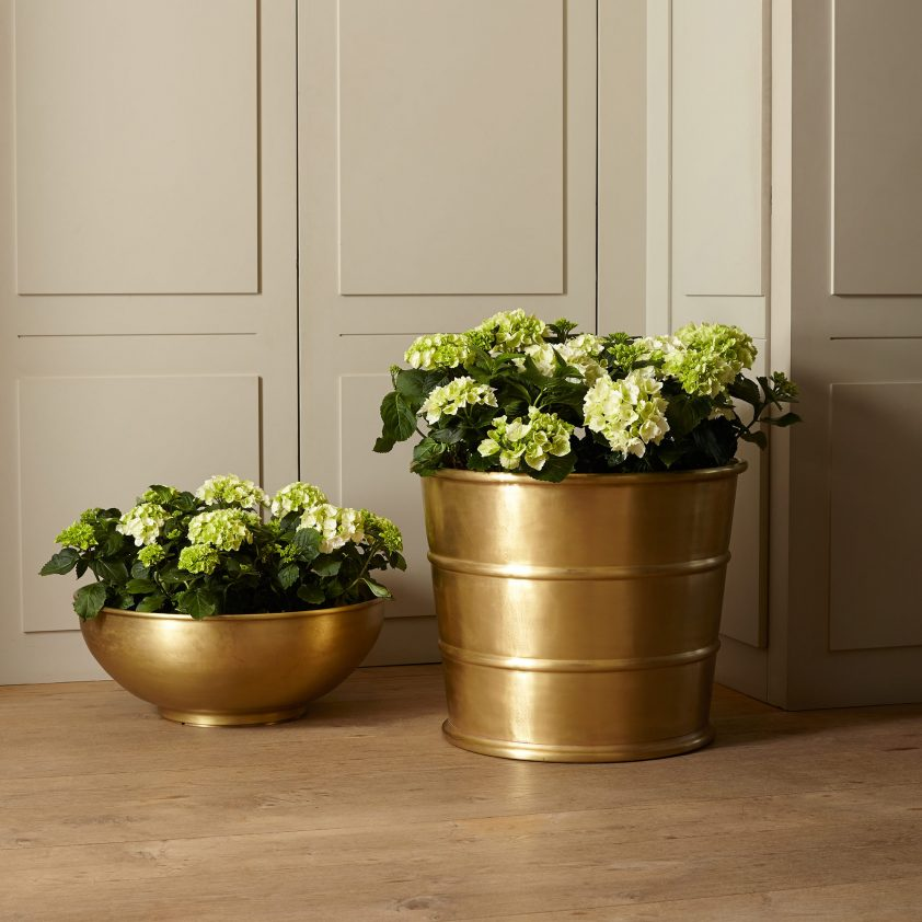 LochLeven in Brass with Matt Lacquer and Atholl in Brass with Matt Lacquer