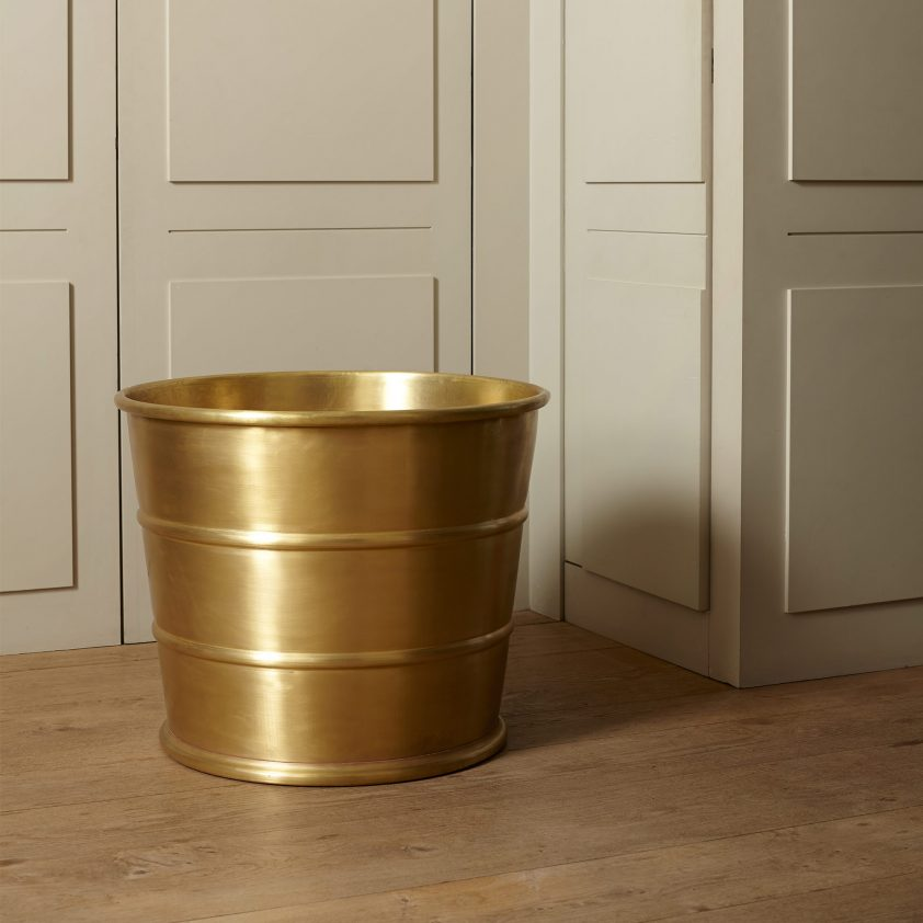 Atholl in Brass with Matt Lacquer